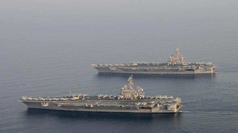 伊朗回应美派军舰又增兵:敢乱来就让它们葬身海底