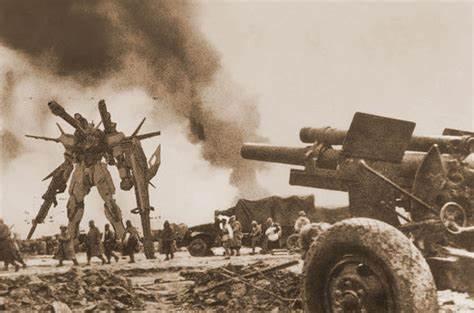 小米加步枪漫画图片_我军当年果真有高达,铁甲巨龙多炮塔,火力凶猛比对手坦克还 ...