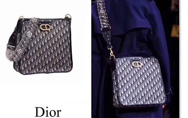 Dior Oblique链条老花豆腐包时尚圈会大火的一款包包
