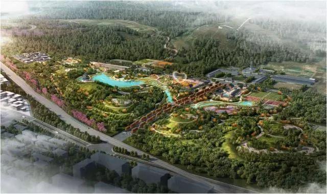 终于来啦!占地670多亩,密云新的城市森林公园即将开建!