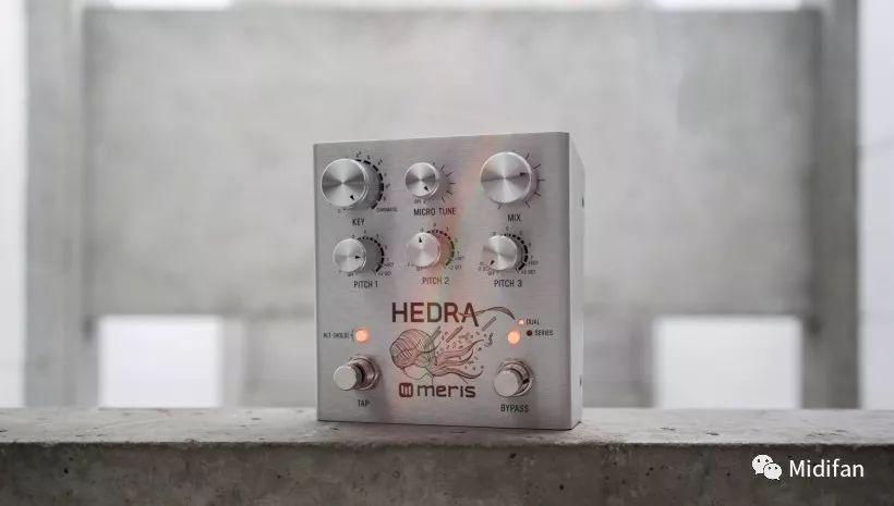Meris 推出 Hedra 三复音节奏音高变换硬件