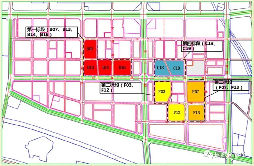 商丘市南部新城安置区施工进度