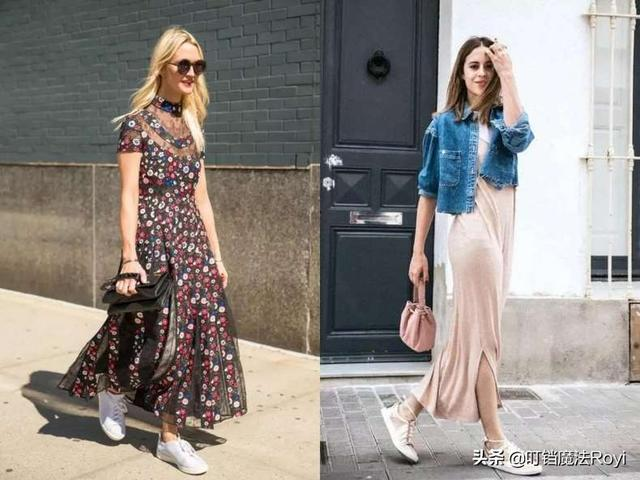 时尚 正文  真的是有超级多潮人们为裙子 运动鞋给出买家秀,所以没