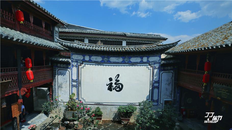 <b>云南喜洲第一土豪严家的家里,富有奢华程度不亚于晋商乔家大院</b>
