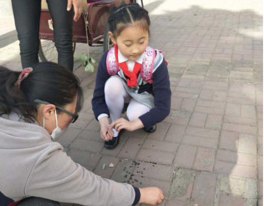 向阳路上温暖的一幕——莒县第一实验小学新时代文明实践