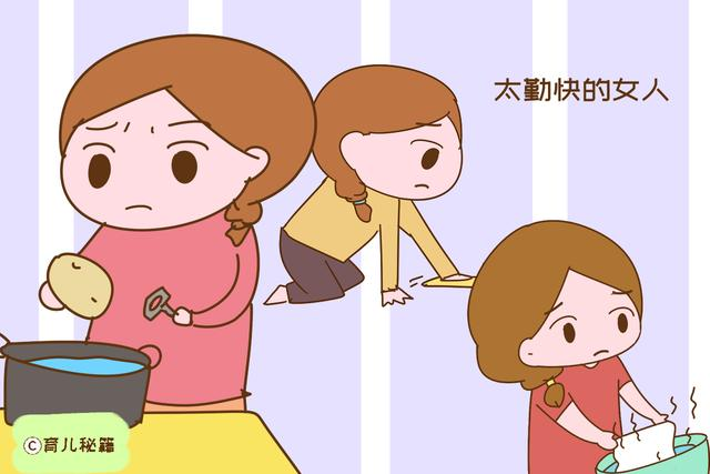 宝妈坚决不锻炼女儿做家务,说是为了她以后的幸福,这话我信