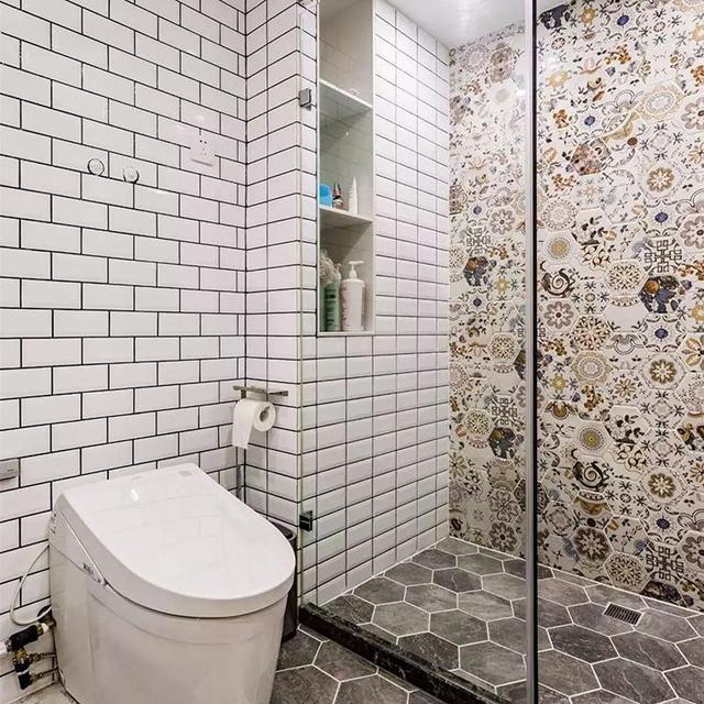 2.8㎡小卫生间,空间巧做干湿分离