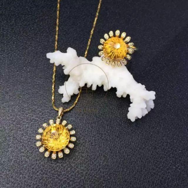 黃藍寶,黃水晶,黃碧璽,黃鉆…招財神器那么多,想發財?圖片