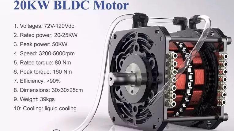 无刷直流伺服电机,一文带你读懂什么是无刷直流电机(BLDC)_转子