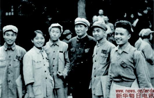 70年前,他们父子俩一起参加开国大典