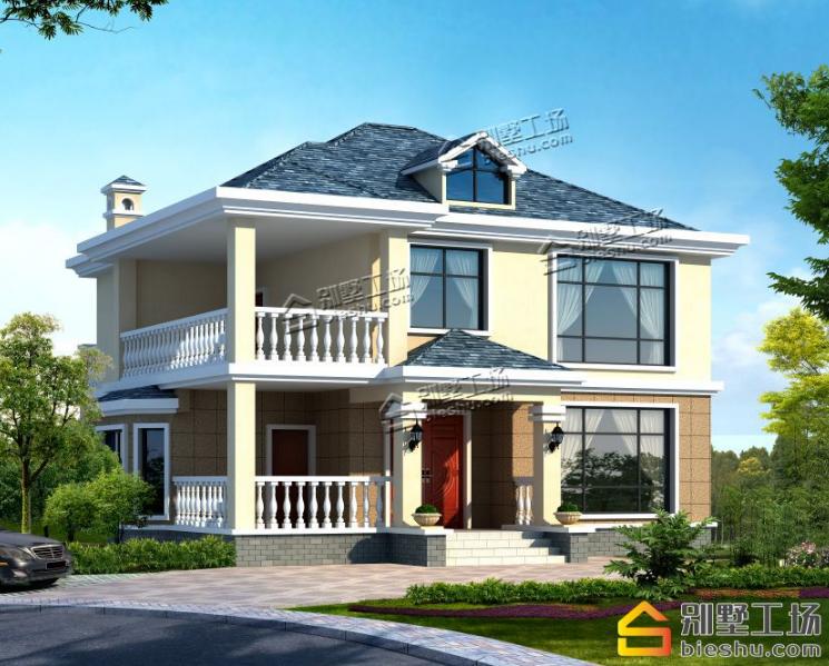 多款120平方房子设计图,一层 二层 三层 四层别墅随选