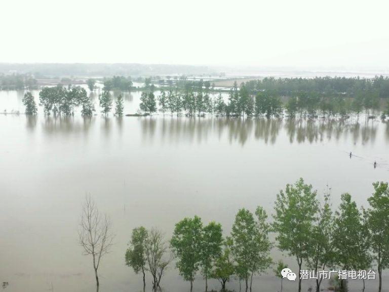 近日潜山市连降暴雨,来看看受灾和抢险情况