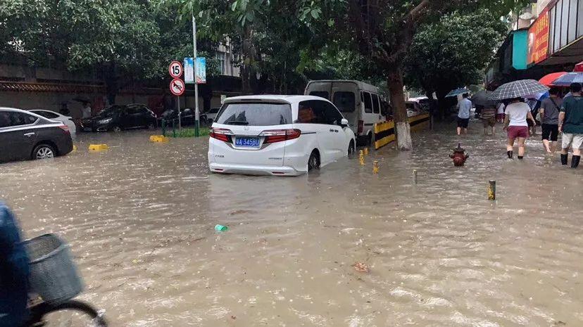 龙舟水发威!今早广州多处水浸  多区发布暴雨预警