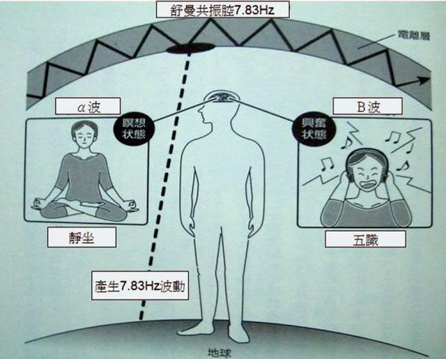 生命的振动,地球的脑波——舒曼共振波是意识波?