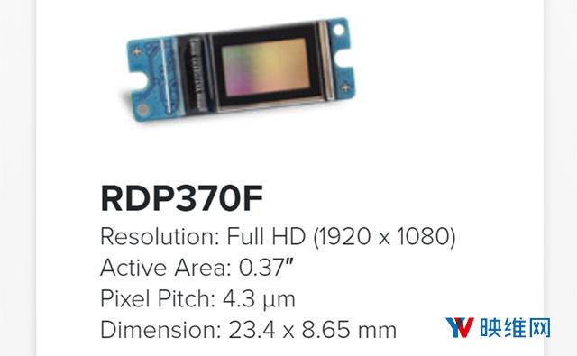 Raon-Tech推出5900 ppi 2K分辨率LCoS微型显示面板