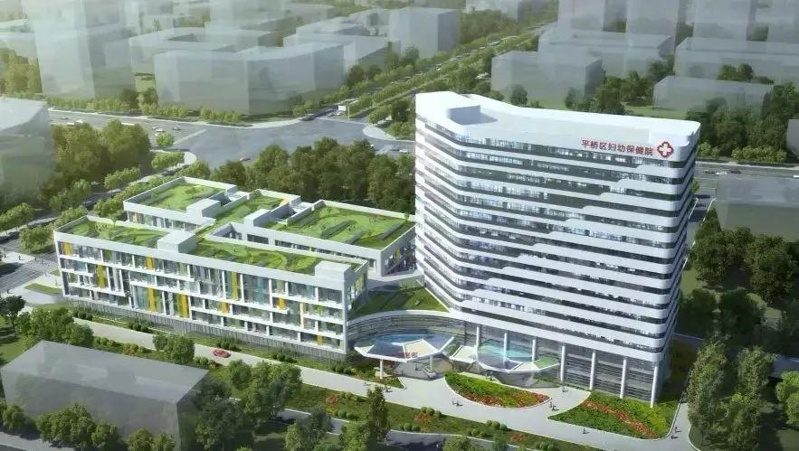 项目名称:信阳市平桥区妇幼保健院保健综合楼 设计单位:北京五合国际图片