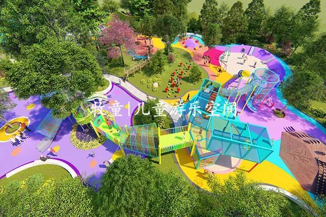 牧童项目丨山东金乡星空喜园童乐园_设计图片