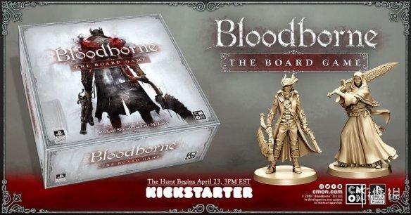 《血源》桌游众筹超400万美元 精美棋子涂装图曝光
