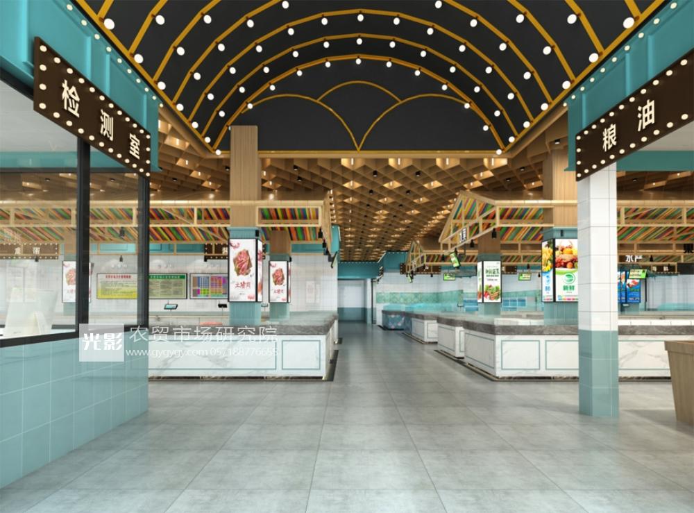 星级农贸市场 | 星级市场设计空间布局规范