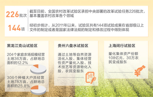 农村发展添活力 农民致富有奔头(