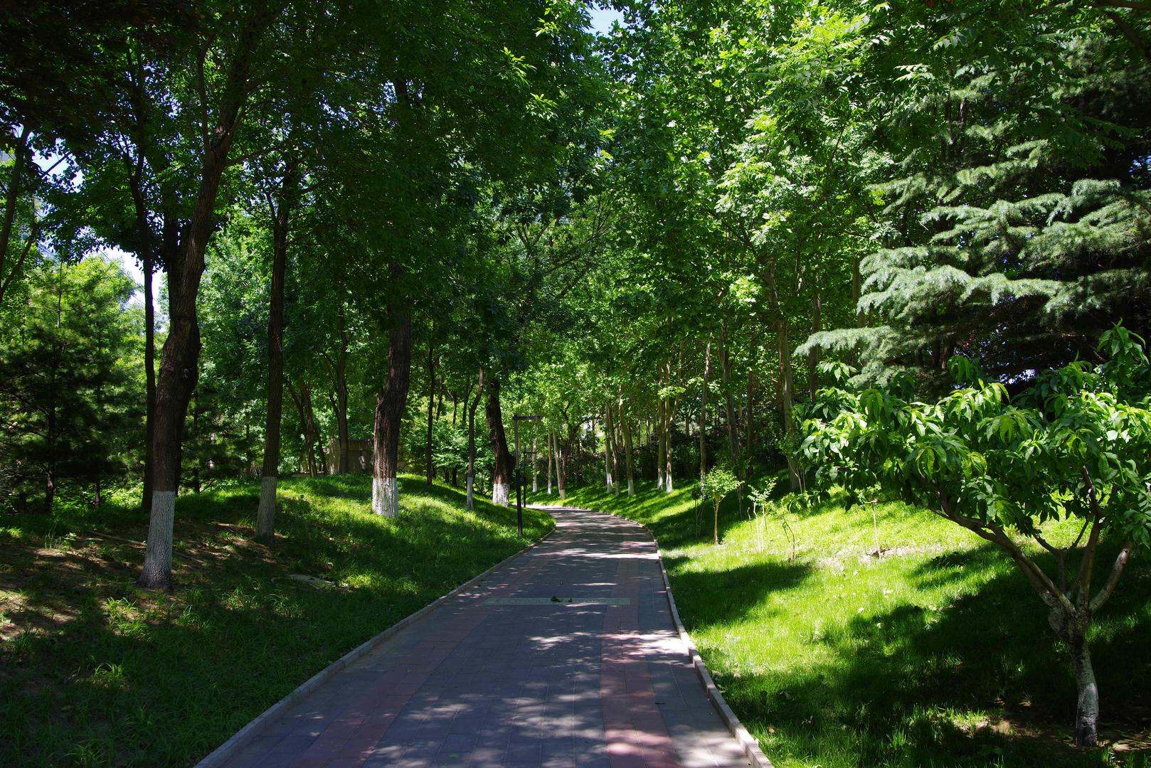 原创昆玉河水景观走廊三大主题公园之一金源娱乐园