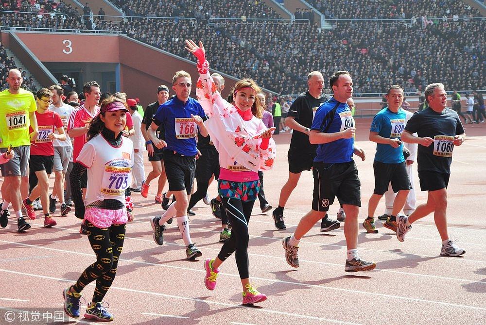 <b>朝鲜国际马拉松开启报名:欢迎外国人参加 150美元跑全程</b>