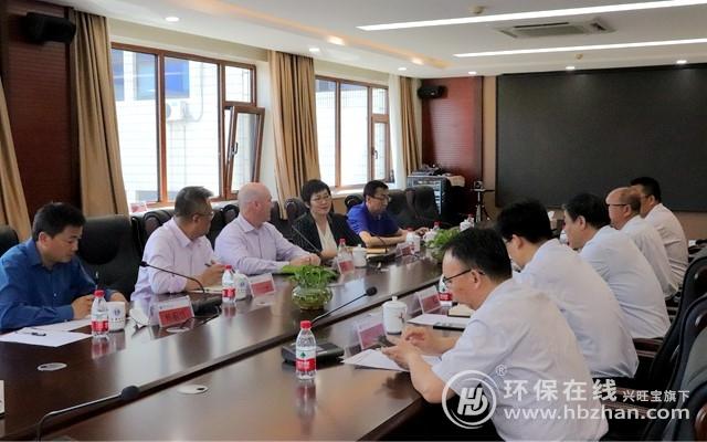 美国过滤集团CEO Tim McCarty一行访问华北电力大学