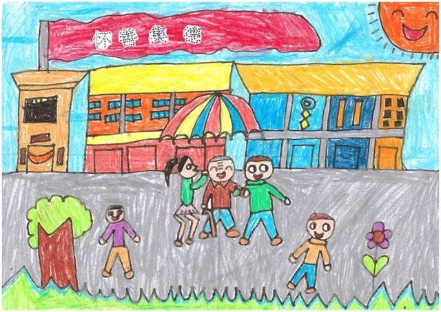 我和我的祖国 童绘文明肇庆 幼儿绘画大赛投票开始啦