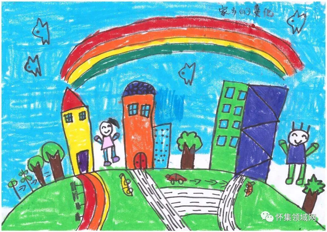 我和我的祖国 童绘文明肇庆 幼儿绘画大赛作品新鲜出炉,线上投票正式开始
