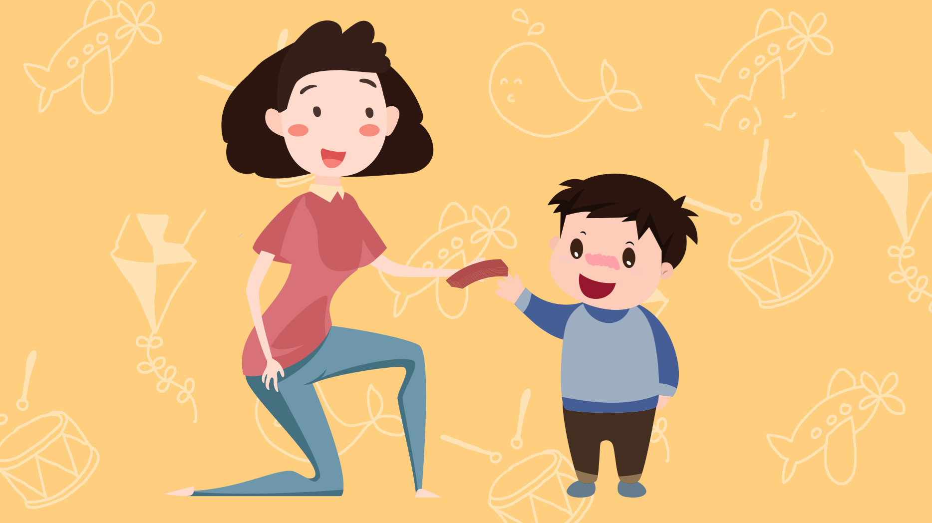 孩子在父母面前说谎话,大多是为了维持 客体关系 ,很暖心