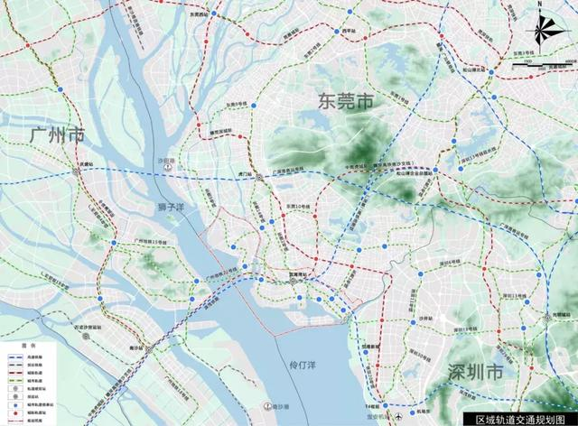 东莞滨海湾区交通规划牵动南沙业主心,22号线或串接深圳18号线