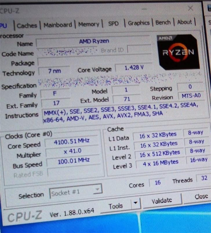 AMD 16核R9跑分曝光:超英特尔18核i9-9980XE