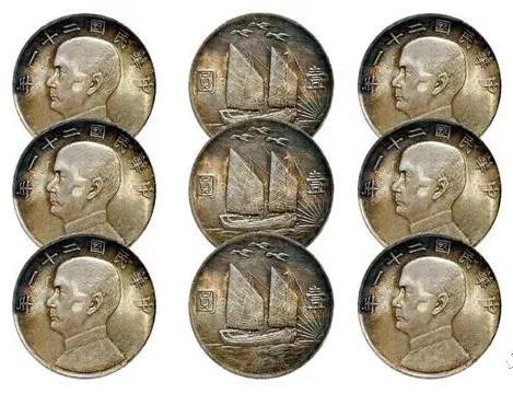 具有民国时期代表的双帆币,你收藏过吗