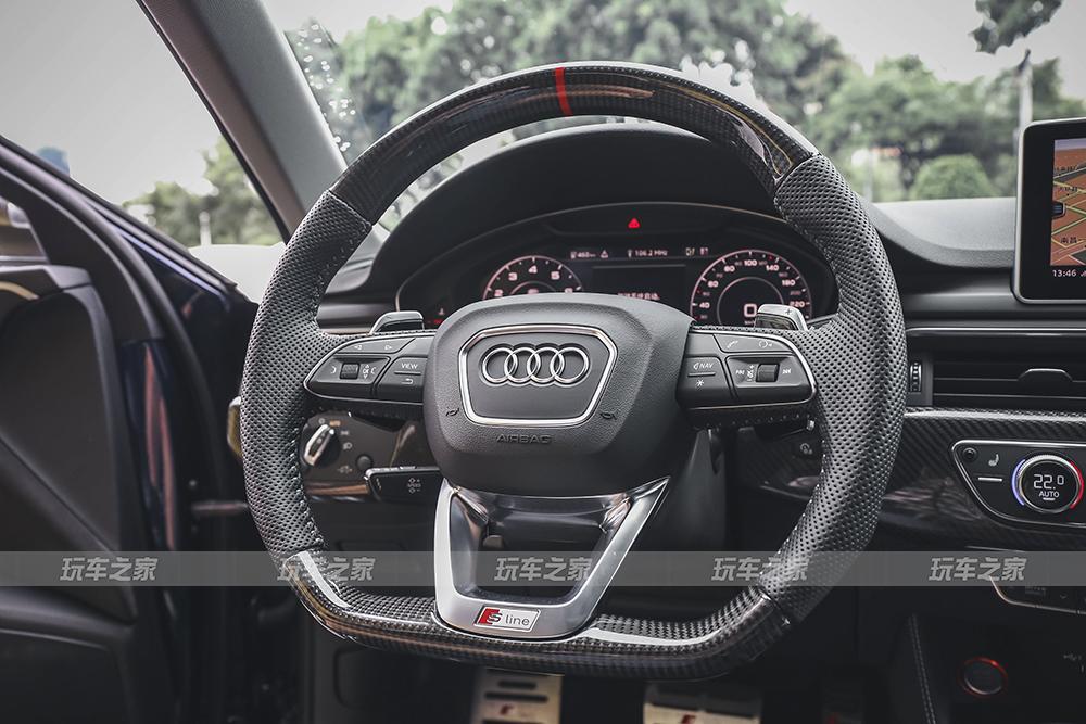 奥迪A4旅行版改装 升级内饰打磨细节