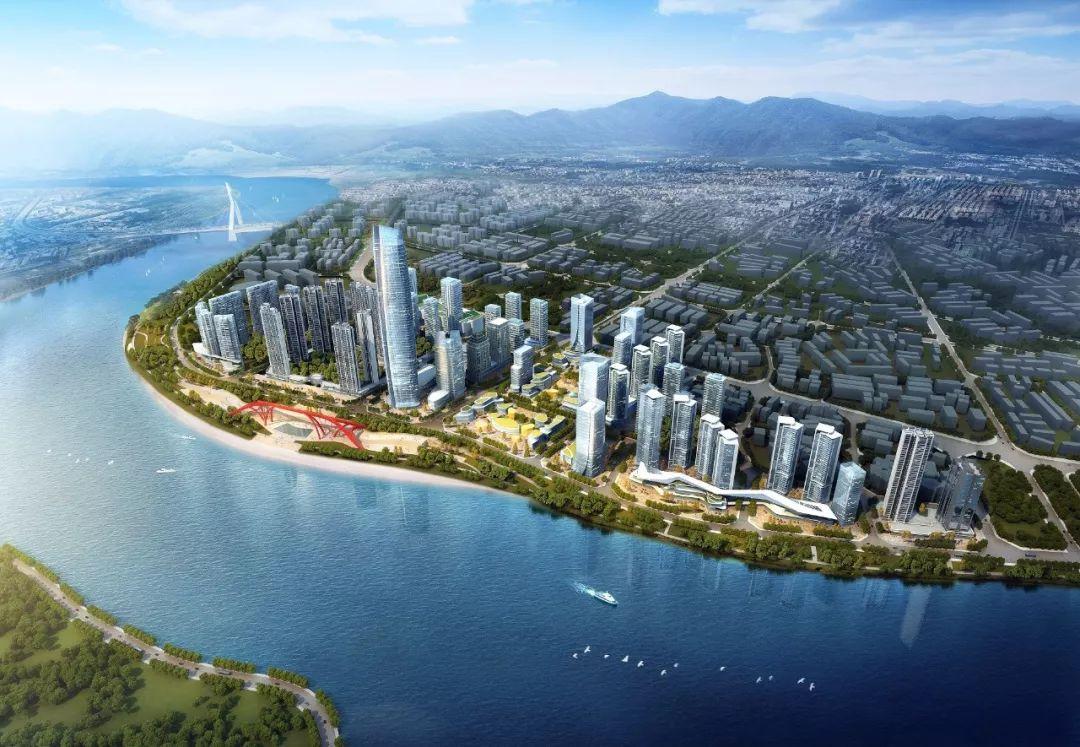 宜宾三江新区规划图