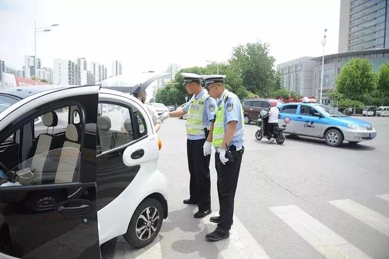 今日,山东全省公安交警集体行动
