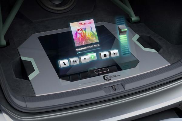 大众推出配备全息成像声控系统的GTI极光概念车