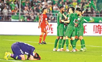 足协杯淘汰赛 国安晋级八强