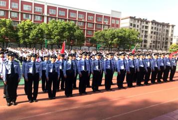 驻马店市青少年警校实践基地授牌成立