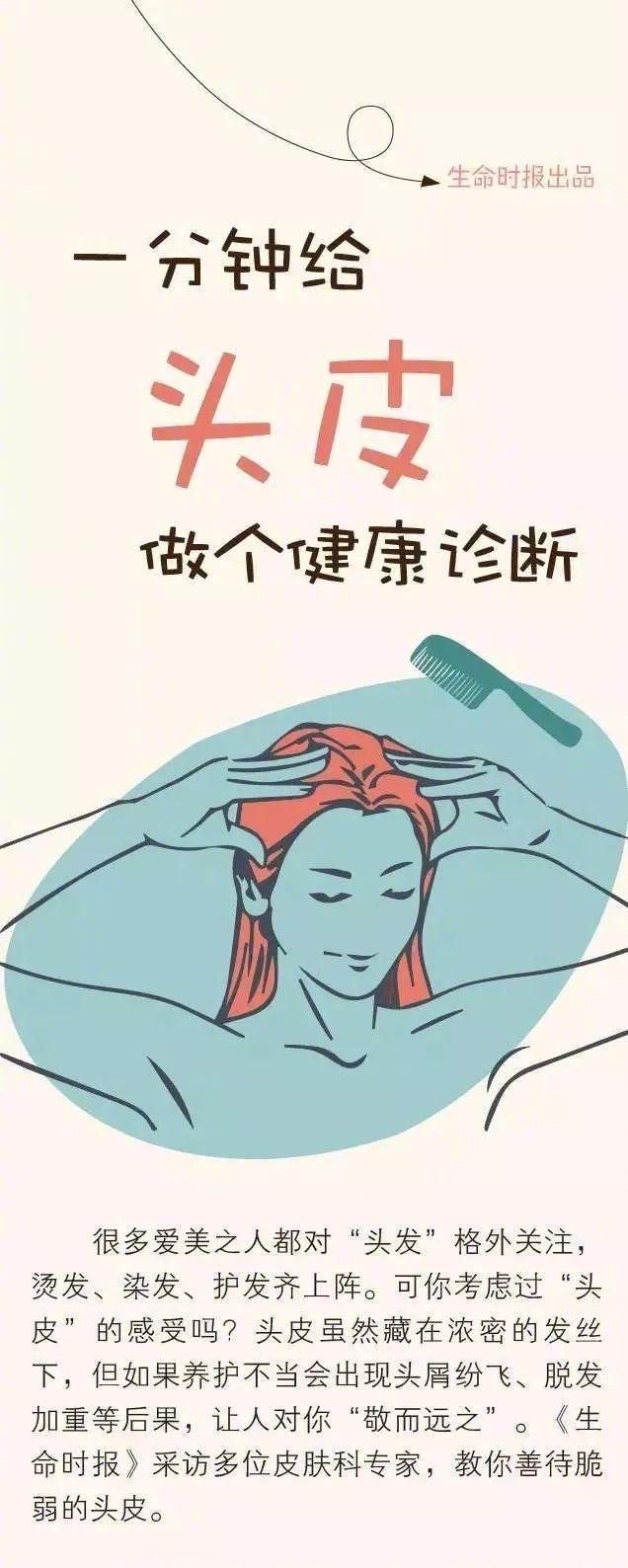 【涨知识】一分钟给头皮做个健康诊断,拯救上