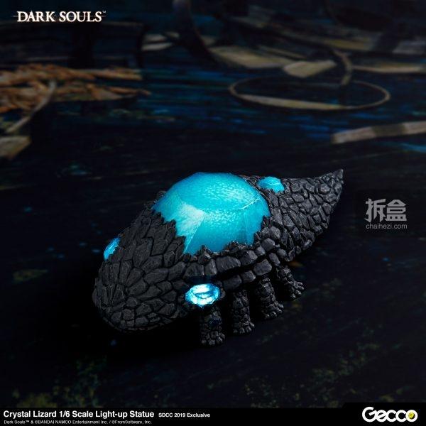 Gecco《黑暗之魂》宝石结晶虫 发光蜥蜴