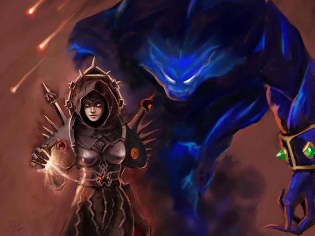 魔兽世界怀旧服术士pvp视频图片
