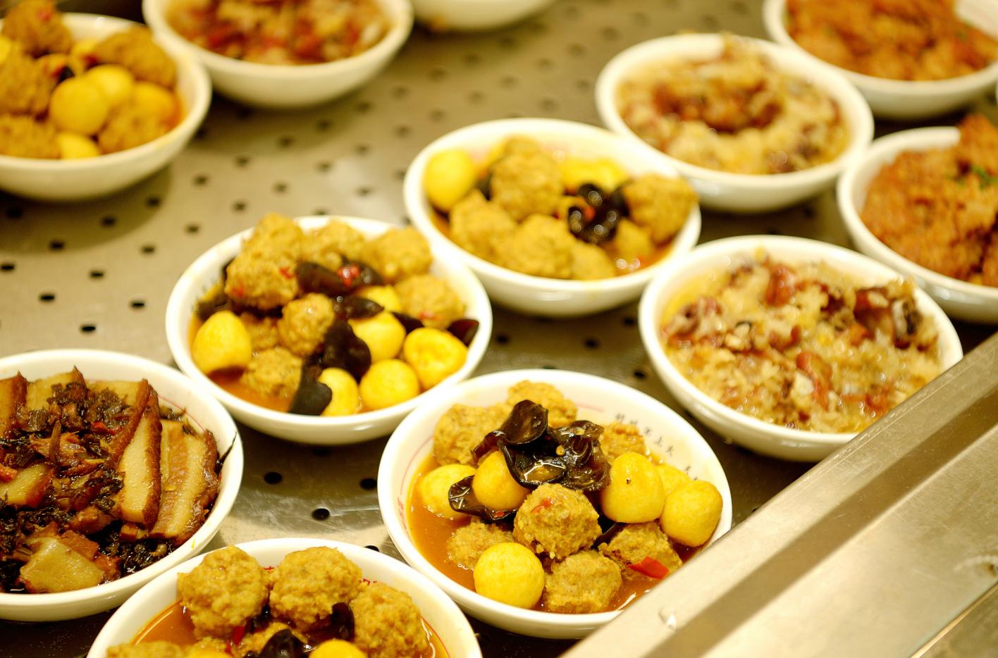 大食堂中式快餐菜图