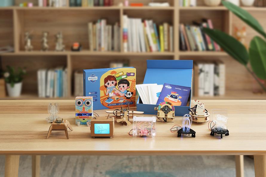 在家学编程,聪明父母首选童心制物编程造物盒