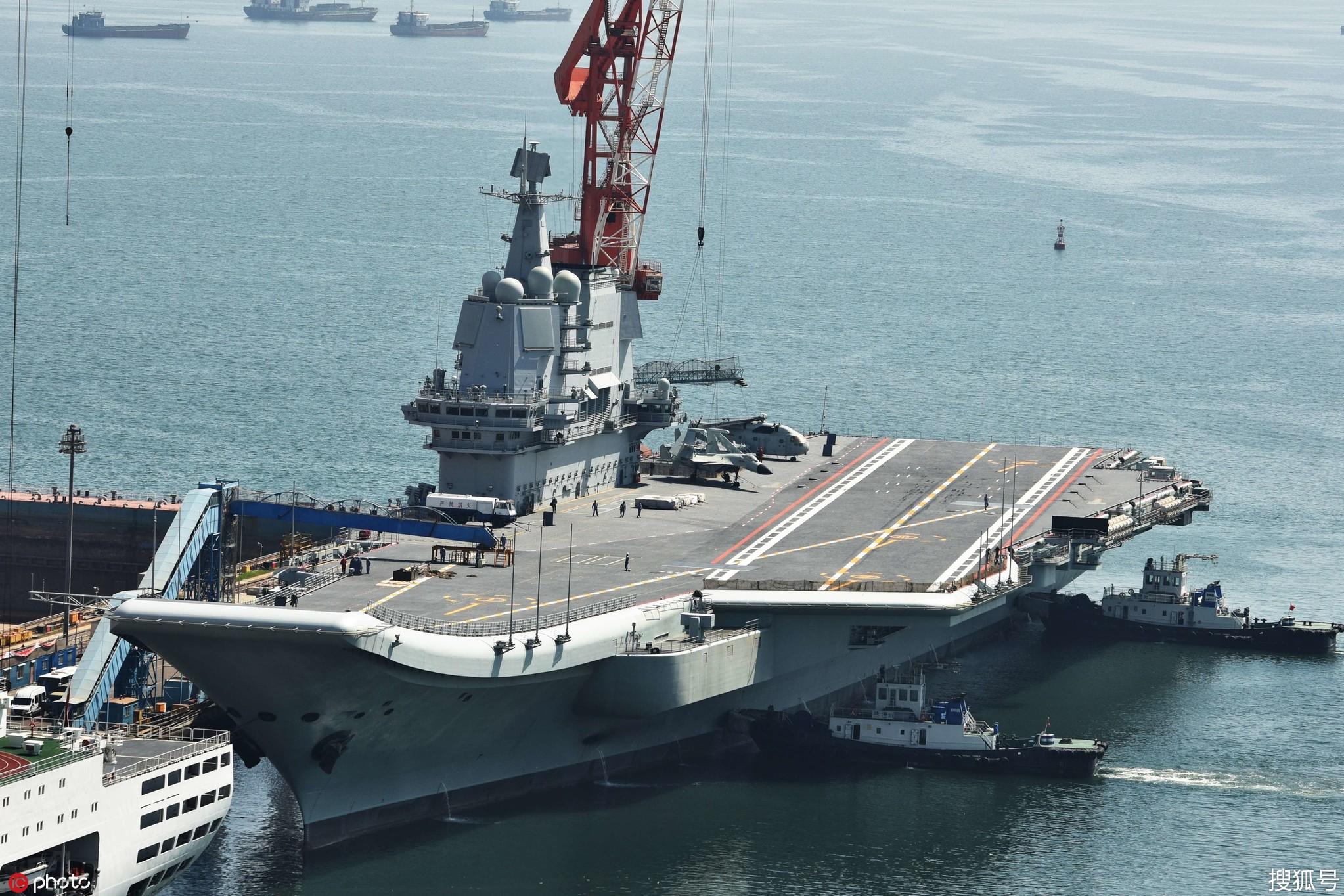 国产航母_国产航母第六次海试返港,首次舰载机测试圆满完成