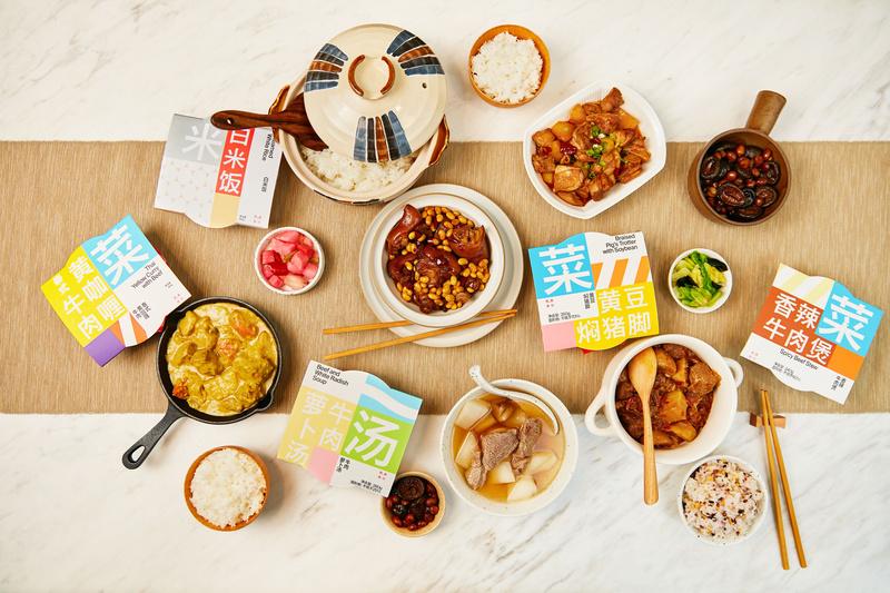 速食不止方便面和自热火锅,「熊鱼食社」要用菜、饭、汤、甜品全方位满足你