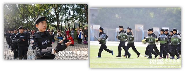 参加广东警官学院少年警训夏令营吧!英勇少年!