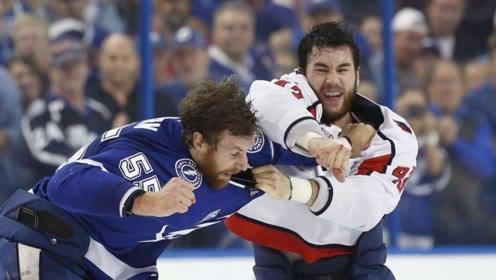 冰球比赛 打架