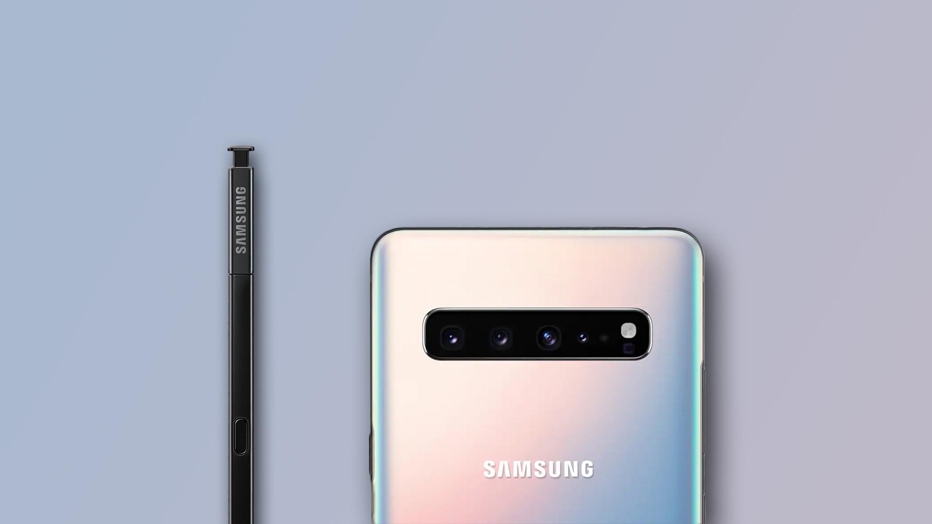 Galaxy Note10 要跟物理按键和耳机孔说再见了