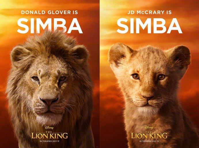 真人版《狮子王》首发海报,毛发质感超逼真,评论区堪比吸猫现场